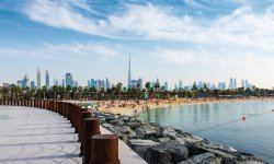 Dubai Downtown mit La Mer Beach © creativefamily-fotolia.com