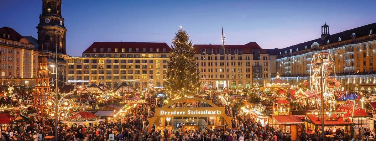 Dresdner Striezelmarkt © Dresden Marketing GmbH/ddpix.de